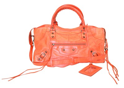 Lot 21-A Balenciaga Part Time Handbag