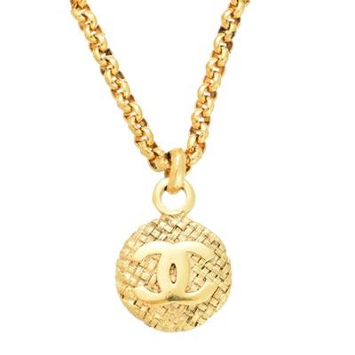 Lot 48-A Chanel pendant necklace