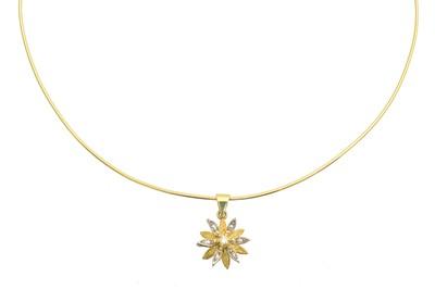 Lot 106 - A diamond necklace