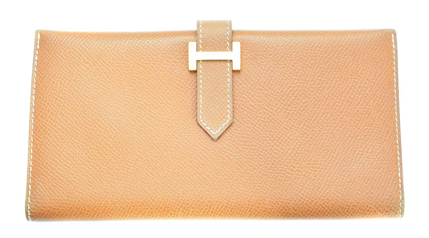 Lot 22-A Hermes Bearn wallet