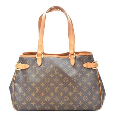 Lot 40-A Louis Vuitton Monogram Batignolles Horizontal GM handbag
