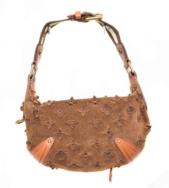 Lot 25-A Louis Vuitton Limited Edition Onatah Flowers Handbag