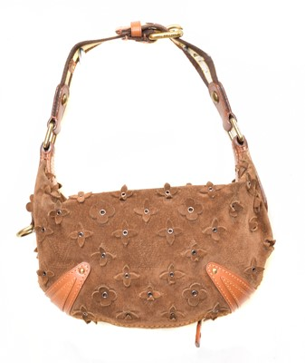Lot 25 - A Louis Vuitton Limited Edition Onatah Flowers Handbag