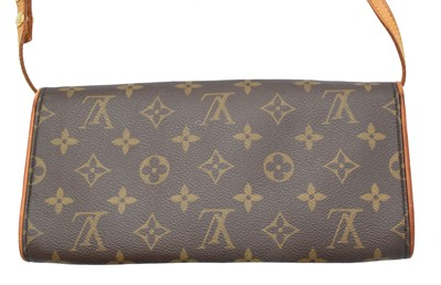 Lot 24-A Louis Vuitton Monogram Twin GM handbag
