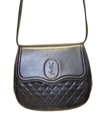 Lot 90 - A Yves Saint Laurent Shoulder Bag