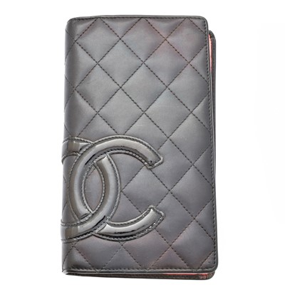 Lot 94 - A Chanel Cambon Line Bifold Wallet