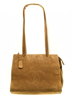 Lot 43-A Chanel Shoulder Tote Bag