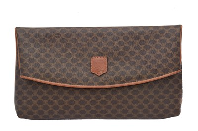 Lot 49 - A Celine Macadam Clutch Bag
