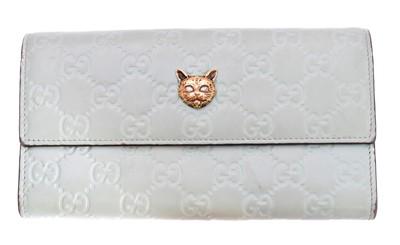 Lot 66 - A Gucci Cat Head Continental Wallet