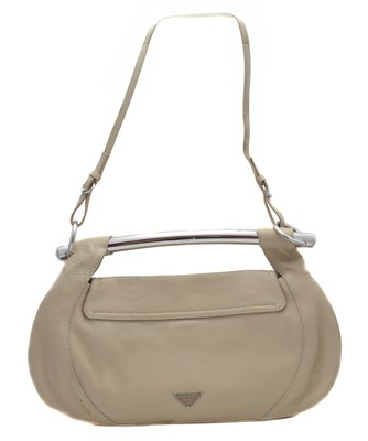 Lot 7 - A Prada Bar Handle leather shoulder bag