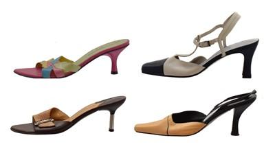 Lot 50 - Four pairs of Balenciaga heels