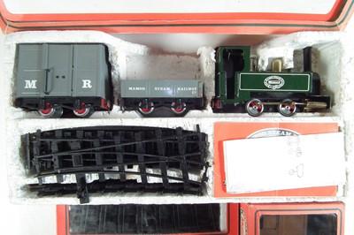 Lot 42-Mamod steam engine train set