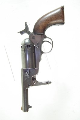 Lot 4-Percussion Colt type revolver probably by Clement arms