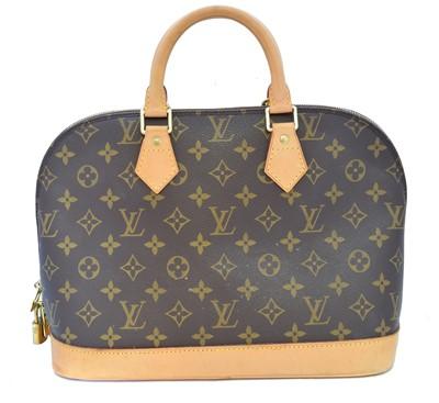 Lot 57 - A Louis Vuitton Monogram Alma PM handbag