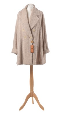 Lot 2-A wool coat by Fendi