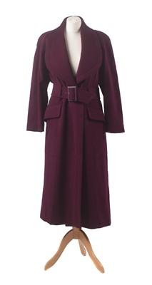 Lot 5-A wool coat by Mugler