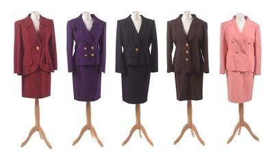 Lot 121 - Five suits by Christian Lacroix
