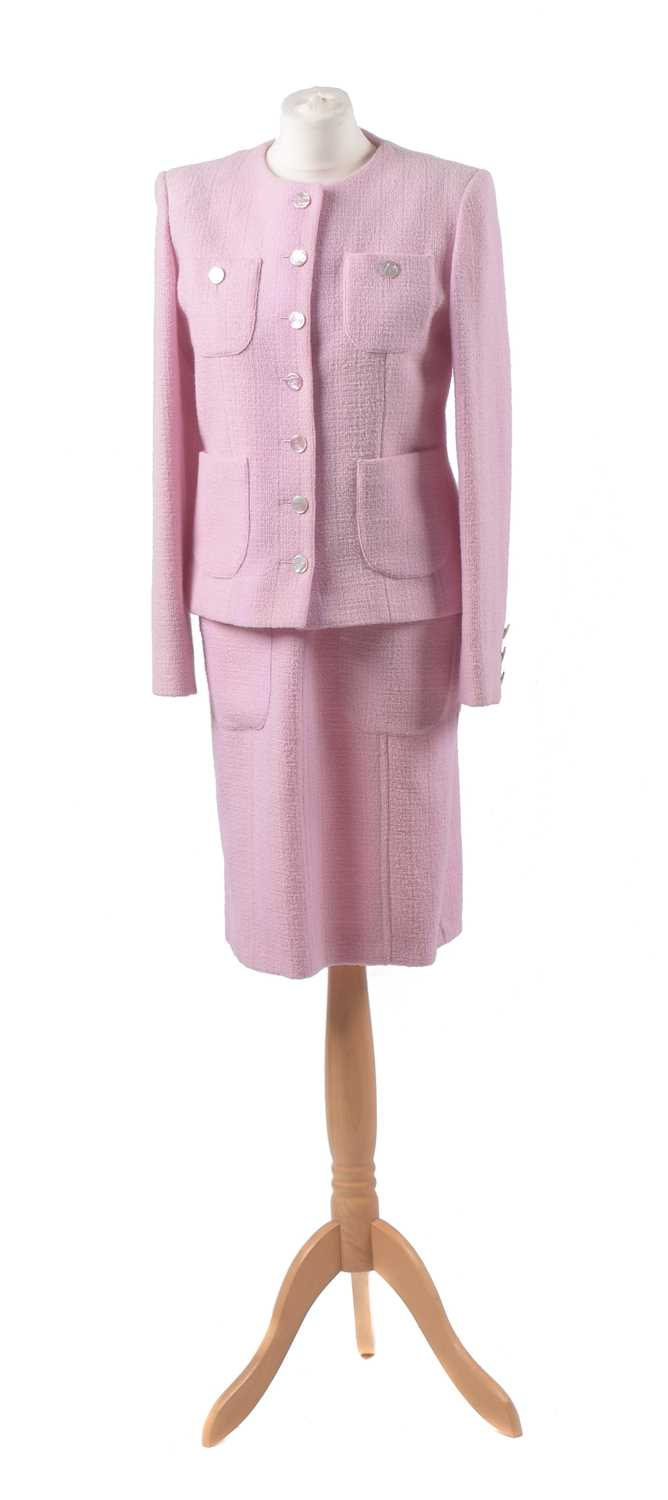Lot 89 - A two-piece wool set by Yves Saint Laurent