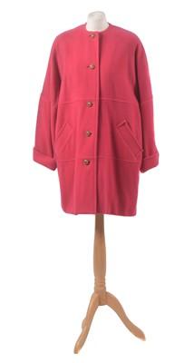 Lot 148 - A wool coat by Caroline Charles