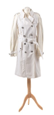 Lot A trench coat by Burberry