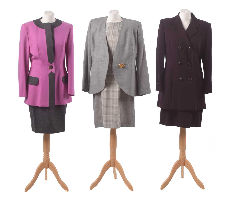 Lot 17 - Three suits by Tomasz Starzewski