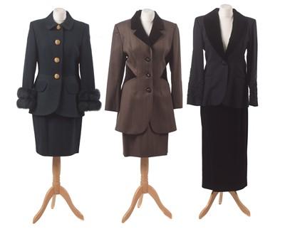 Lot 17-Three suits by Tomasz Starzewski