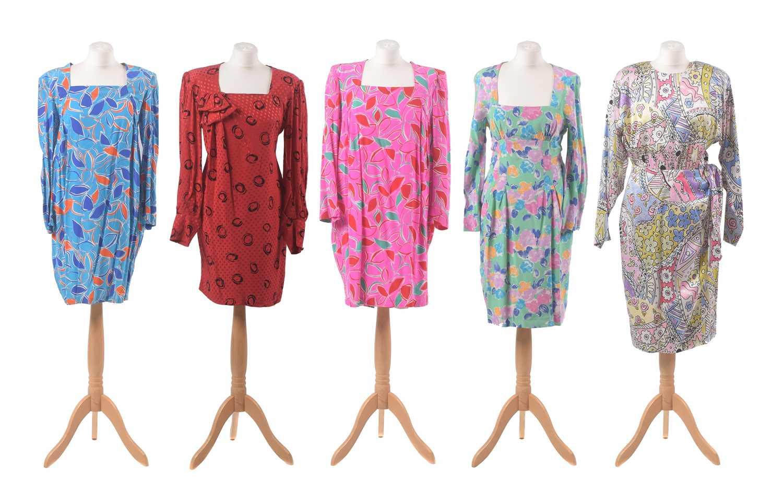 Lot 24 - Five designer summer dresses