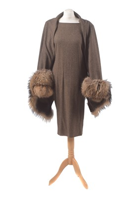 Lot 25 - A wool dress by Gai Mattiolo