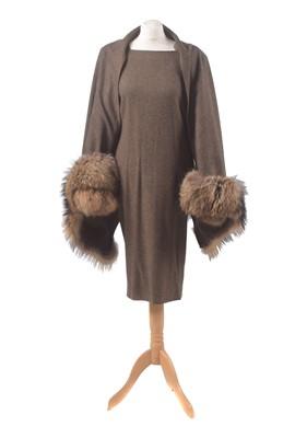 Lot 8-A wool dress by Gai Mattiolo