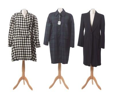 Lot 47-Three designer coats