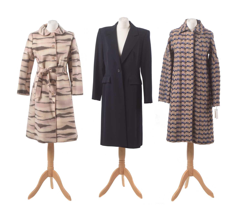 Lot 97 - Three designer coats