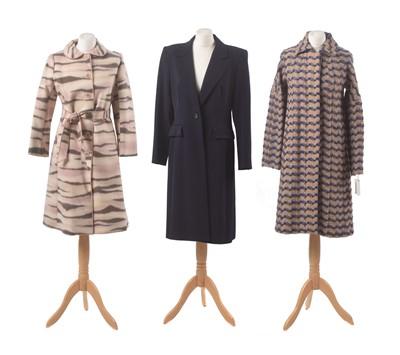 Lot 27-Three designer coats