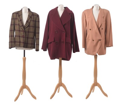 Lot 19-Three coats by Georges Rech