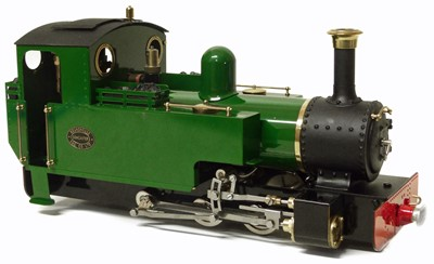 Lot 55-Roundhouse 'Lady Anne' live steam 16mm 0-6-0 locomotive.