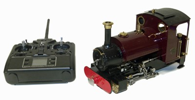 Lot 54-Roundhouse 'Katie' live steam 16mm locomotive
