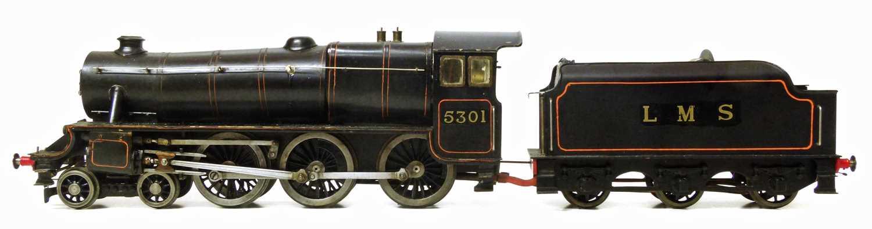 Lot 8-Bassett-Lowke gauge O spirit fired live steam