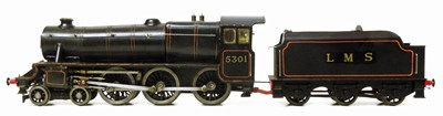 Lot 8-Bassett-Lowke gauge O spirit fired live steam
