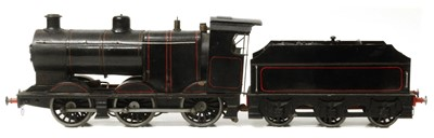 Lot 46-O gauge live steam spirit fired locomotive