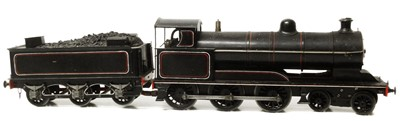 Lot 48-O gauge live steam spirit fired locomotive