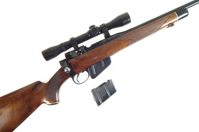 Lot 42-Collins Brothers .303 bolt action Lee Enfield Sporting rifle