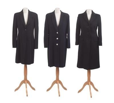 Lot 33-Three designer coats