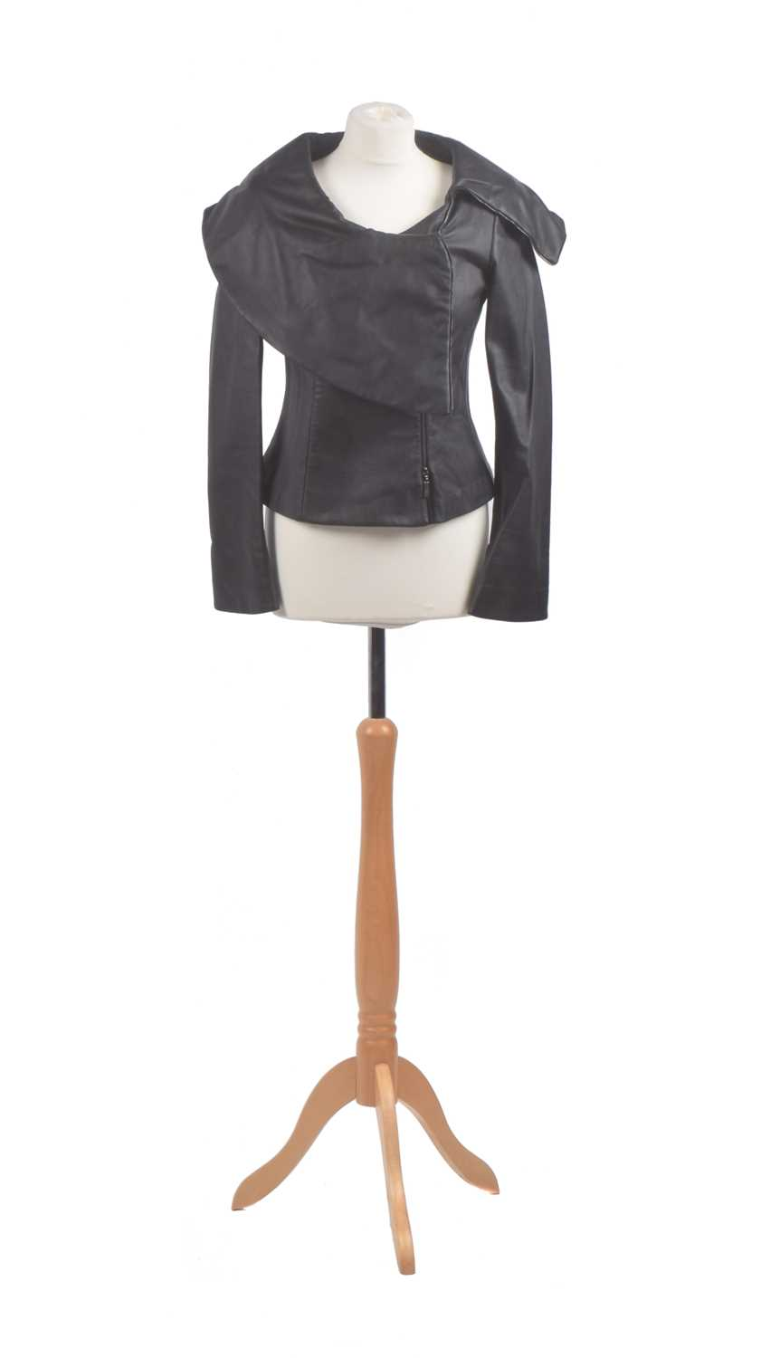 Lot A leather jacket by Armani Collezioni