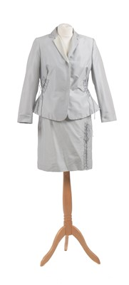 Lot 63 - A grey suit by Moschino