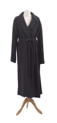Lot 21-A wool coat by Emporio Armani