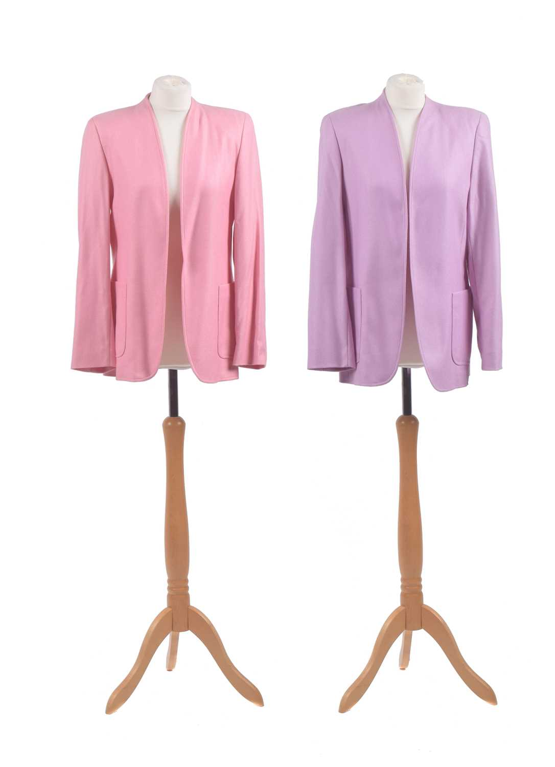 Lot 22 - Two cashmere jackets by Escada