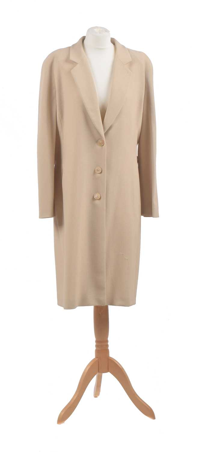 Lot 28 - A coat by Valentino