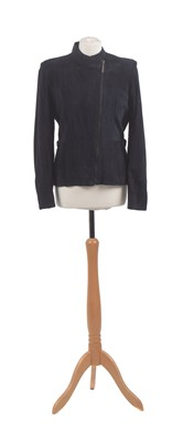 Lot 116 - A suede jacket by Burberry
