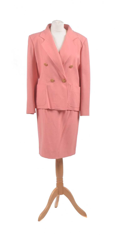 Lot 6 - A two-piece suit by Christian Lacroix