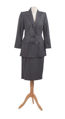 Lot 45-A two-piece suit by Mugler