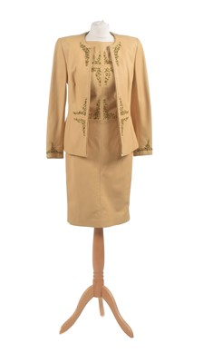 Lot 10 - A Max Mara leather three piece set